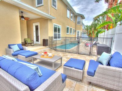 Photo for Huge fun home w/ paddle boards, pool/spa, gameroom, kids play area & beach toys!