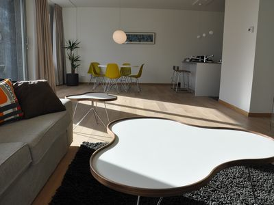 Photo for Modern new apartment in trendy Island area in Antwerp