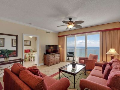 Photo for Beautiful Gulf Front Condo located in the heart of Panama City Beach. Free Wifi, tons of amenities.