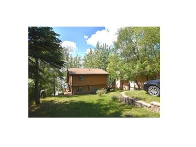 Photo for Lake front cabin year round great for families