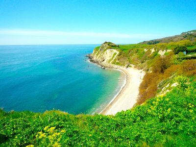 Plenty of beaches and coves within walking distance