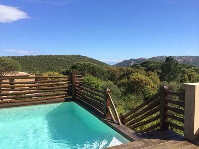 Photo for Charming villa in Porto Vecchio close to the beach of'Santa Giulia '