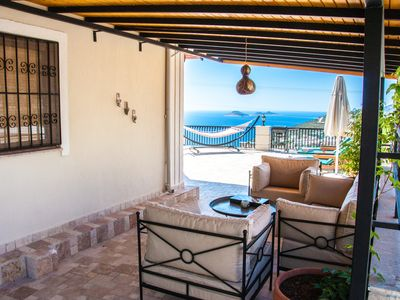 Photo for Villa With Private Pool and Stunning Uninterrupted Sea View. Sleeps 4 Kiziltas