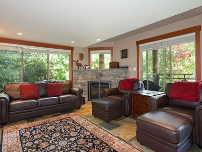 Photo for Beautiful Spacious Family Town home. NEWLY FURNISHED + UPDATED with Rustic Whistler charm