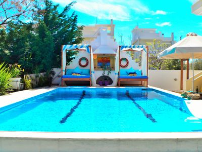 Photo for Corinthian Riviera: pool, city spa, casino.