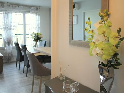 Photo for Charming apartment facing Val d'Europe, Outlet / Disneyland 10mn (GARONNE 2)
