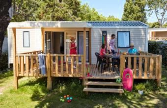 Photo for Camping De L'Eve **** - Mobile home Evasion 4 rooms 6 people