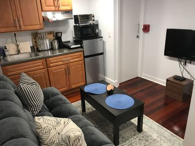Photo for Cozy Apt in Williamsburg, new building, kitchen, bathroom and a washer/dryer!