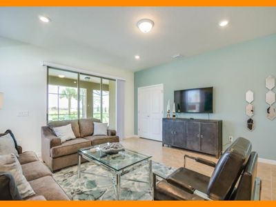 Photo for Solterra Resort 108 - Modern villa with private pool & spillover tub near Disney