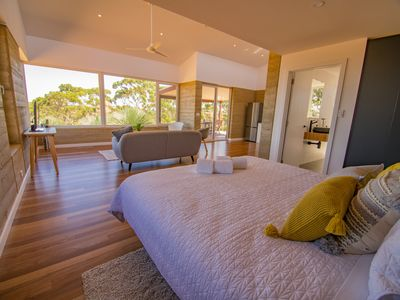 Photo for Ecopia Retreat Villas - eco-luxe rammed earth villas with panoramic views