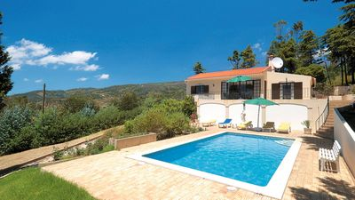 Photo for Mountain-side Villa with view to the coast, ideal to relax, complete with Pool.