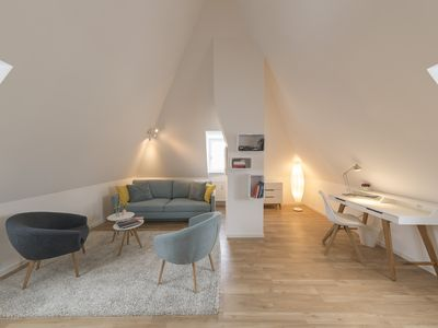 Photo for Quiet duplex apartment on the outskirts of the city