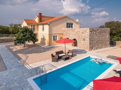 Photo for Villa Vrh (62094-A1) - Krk - island Krk