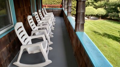 Lots of outdoor seating for optimal relaxation!