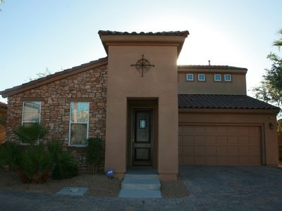 Photo for Upscale, Tuscan Inspired 3BR+Game Room Home, Gated Community, Lake Las Vegas