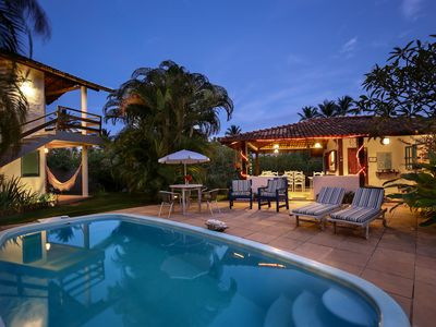 Photo for Pousada for groups of 8 to 30 people 50 meters from Trancoso beach.