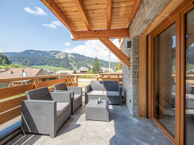 Photo for CAPELLA - Morzine 2 bedroom Alpine Chalet Apartment