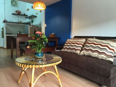 Photo for Cozy 1BR for 4ppl Saigon Center Free WiFi/Large Balcony with Historical View