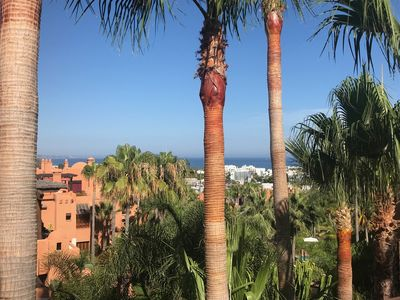 Photo for Newly refurbished luxurious 3 bedroom penthouse by Puerto Banus, Marbella