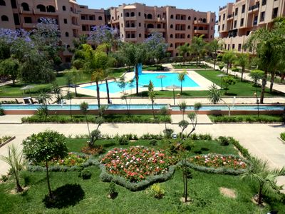 Photo for Superb apartment Sumptuous Garden Pool. ONE child under 12 free
