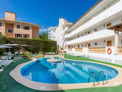 Photo for 1BR Apartment Vacation Rental in Canyamel