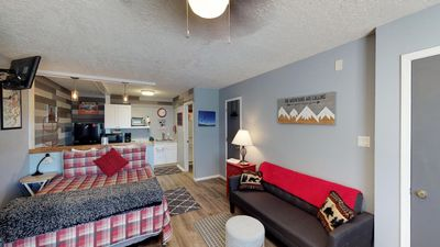 Photo for Riverbend #8E - Corner Studio on the River, WiFi, One Pet under 100 lbs Allowed, Trailer Parking