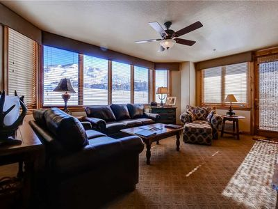 Photo for Beautiful Renovated Slopeside Condo w/Mountain View