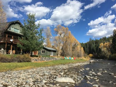 Photo for Closest 4 bedroom river front to Wolf Creek Ski Resort and Pagosa Springs