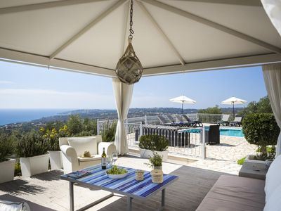 Photo for Mousata Villa, Sleeps 6 with Pool, Air Con and WiFi