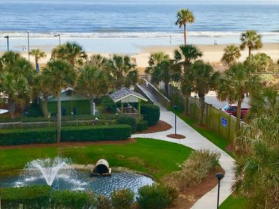 Photo for Enjoy beautiful ocean and sunset views from the oversized balcony in Royale Palm