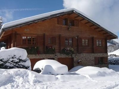 Photo for Rent comfortable cottage 5 min shuttle to the slopes with open view