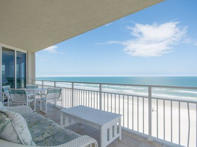 Photo for SR604 Surf & Racquet Professionally decorated 3 bedroom 3 bath direct oceanfront