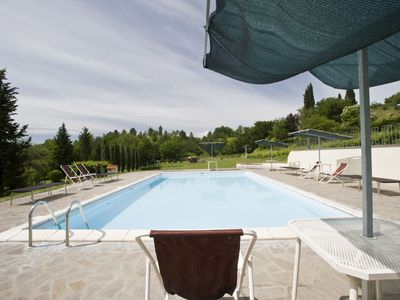 Photo for Nice apartment in villa for 2 guests with WIFI, pool, veranda, panoramic view and parking