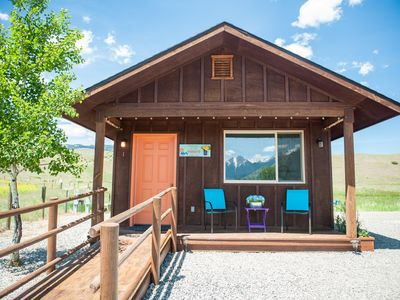 Photo for Cabin Vacation Rental in Emigrant, Montana