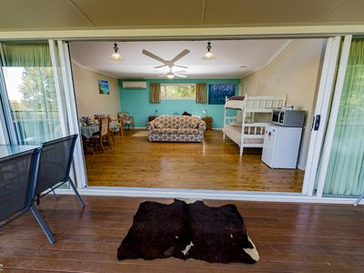 Photo for Aqua Studio is complete for families with self catering facilities. Pet Friendly