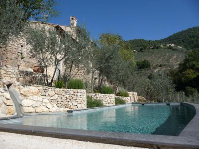 Photo for Italy, Restored villa with stunning views, private pool and olive grove,