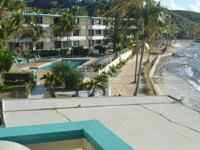 Photo for Casual Island Vacation: Oceanfront 2BR/2BA,Corner Condo Overlooking Pool & Beach