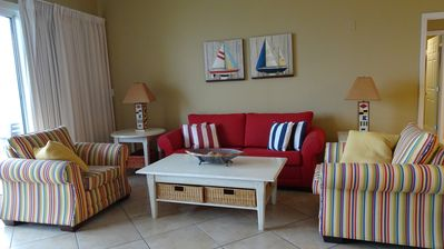 Photo for Sterling Beach-3 BR/2BA-3rd Floor-Free Beach Chairs!