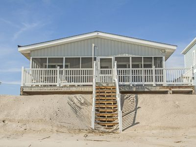 Photo for Airwaves: 3 Bed/2 Bath Cozy, Oceanfront Beach Cottage