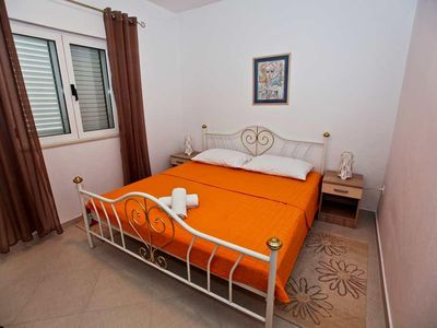 Photo for Two bedroom apartment with balcony Pakoštane, Biograd (A-14658-a)