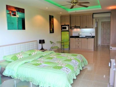 Photo for Studio condo at Jomtien Beach