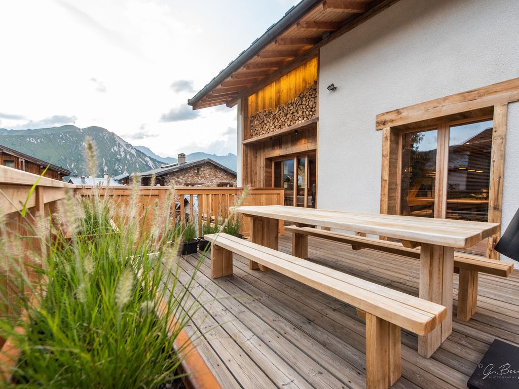 Chalet SiHO , 5 Flocons OR ,4 ch, 4 SDB, Grandes terrasses SUD