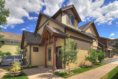 This beautiful two-bedroom townhome  is in the Historic District in Breckenridge