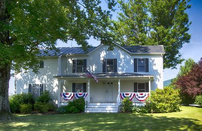 Photo for Historic Spacious Country Farmhouse near Charlottesville, UVa, Wineries