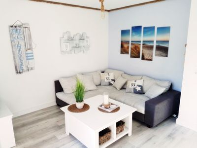 Photo for BEACH GOODS - the appartement ... maritime, inviting and fresh!