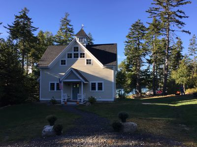 Photo for Waterfront Cottage, Classic Feel, Modern Amenities and Stellar Views.