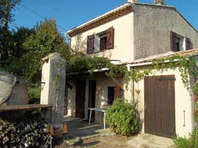 Photo for Country house in the middle of vineyards, 4 people, pierrefeu village in the Var
