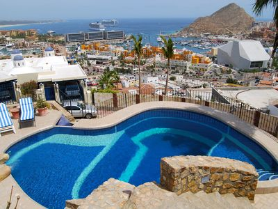 Photo for 4BR Home Overlooking Cabo San Lucas and the Marina - Free Wifi