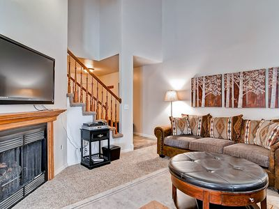 Photo for Updated condo w/ mountain views, gas barbecue, video games - close to skiing