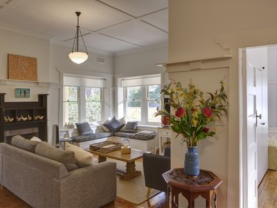 Photo for Classic Manly 1920 light filled, spacious 3 Bedroom, 2 Bathroom, fully renovated
